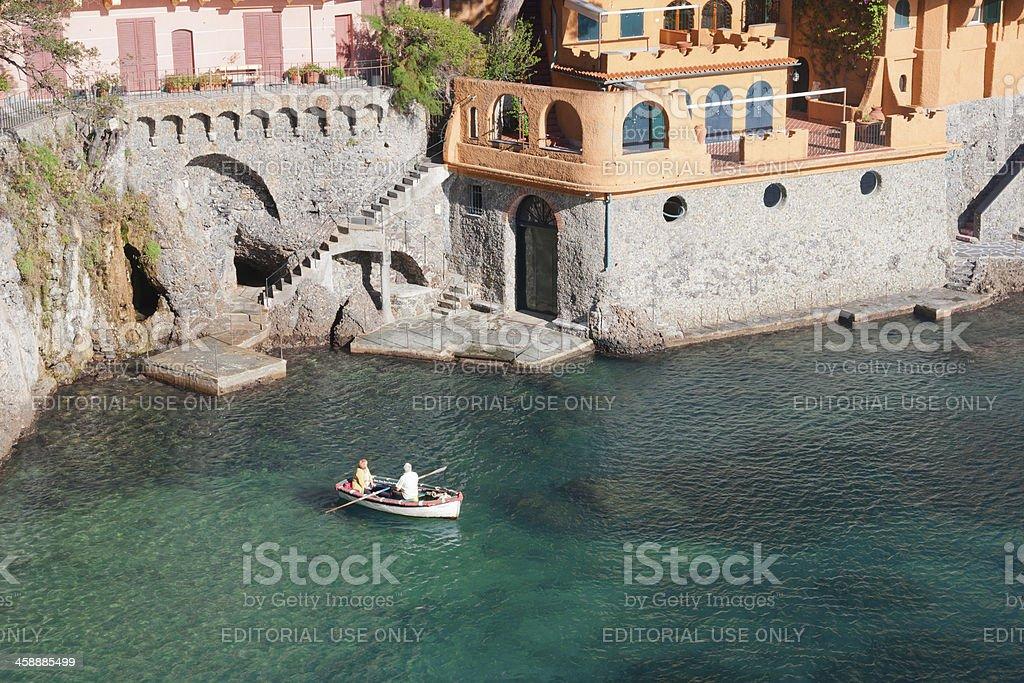 Wonderful villa close to Portofino - Italy royalty-free stock photo