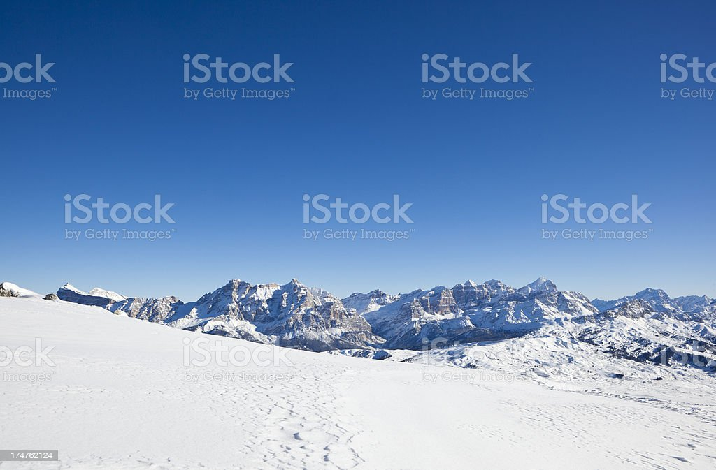 Wonderful winter landscape royalty-free stock photo