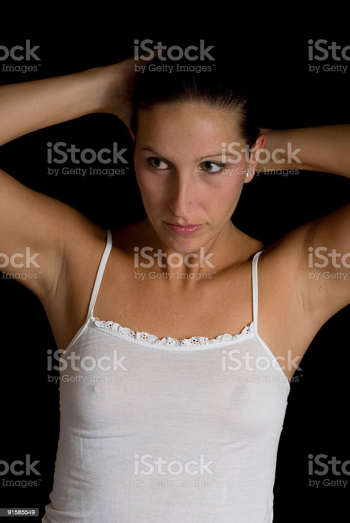 Wondering stock photo