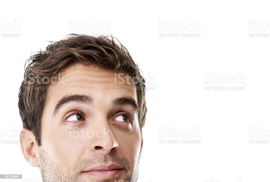 Wondering who's brand will grace this copyspace? royalty-free stock photo