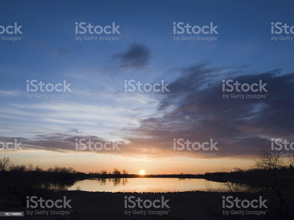Wonderland Lake stock photo