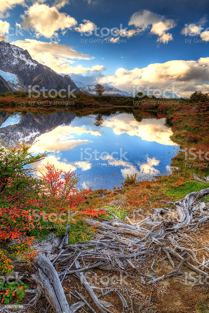 Wonderous Andes Color stock photo