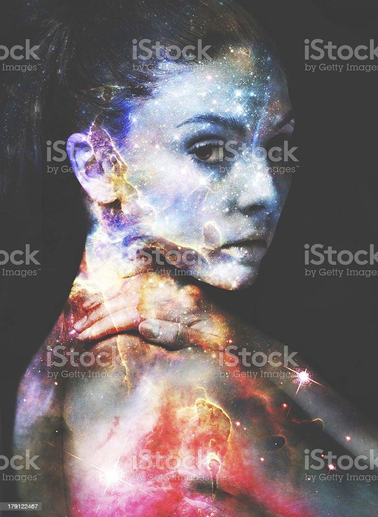 Wonderous beauty royalty-free stock photo