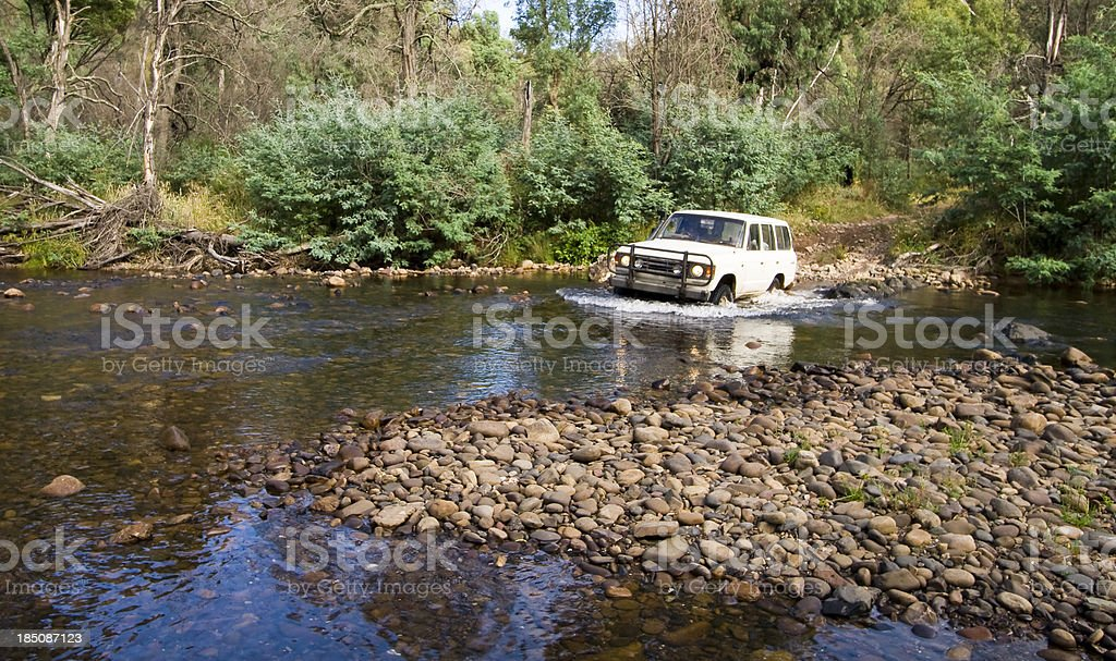Wonnongatta River Crossing royalty-free stock photo