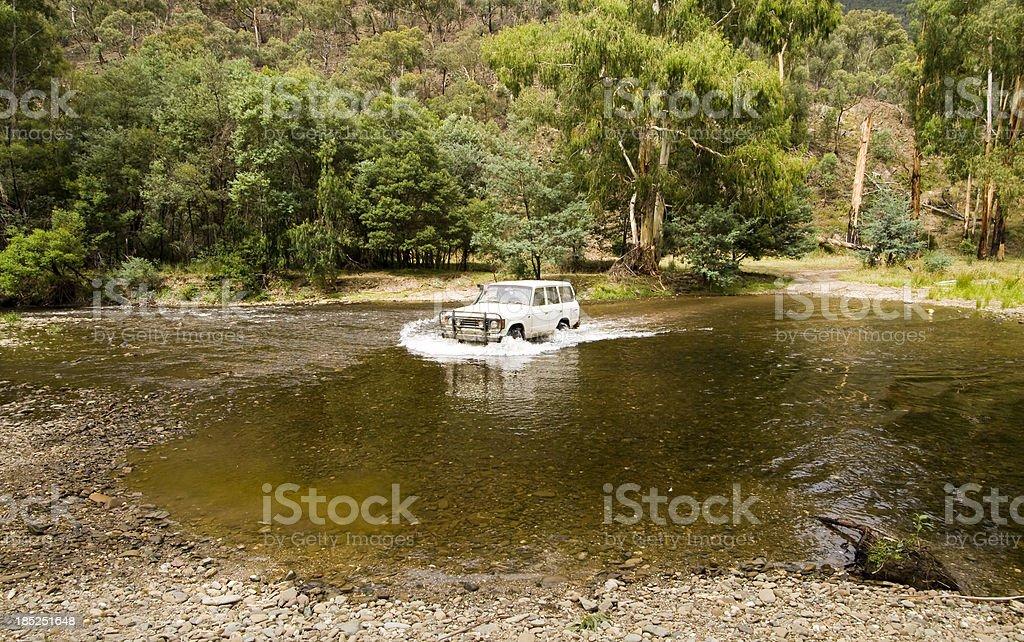 Wonnongatta River Crossing stock photo