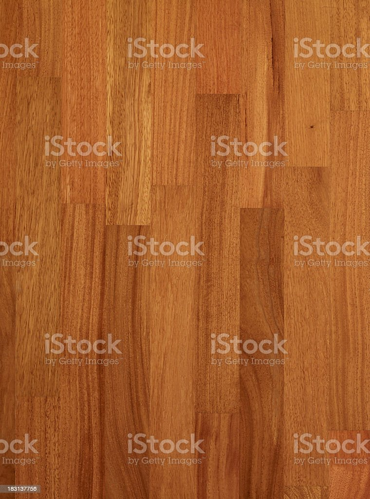 Wood background Doussie stock photo