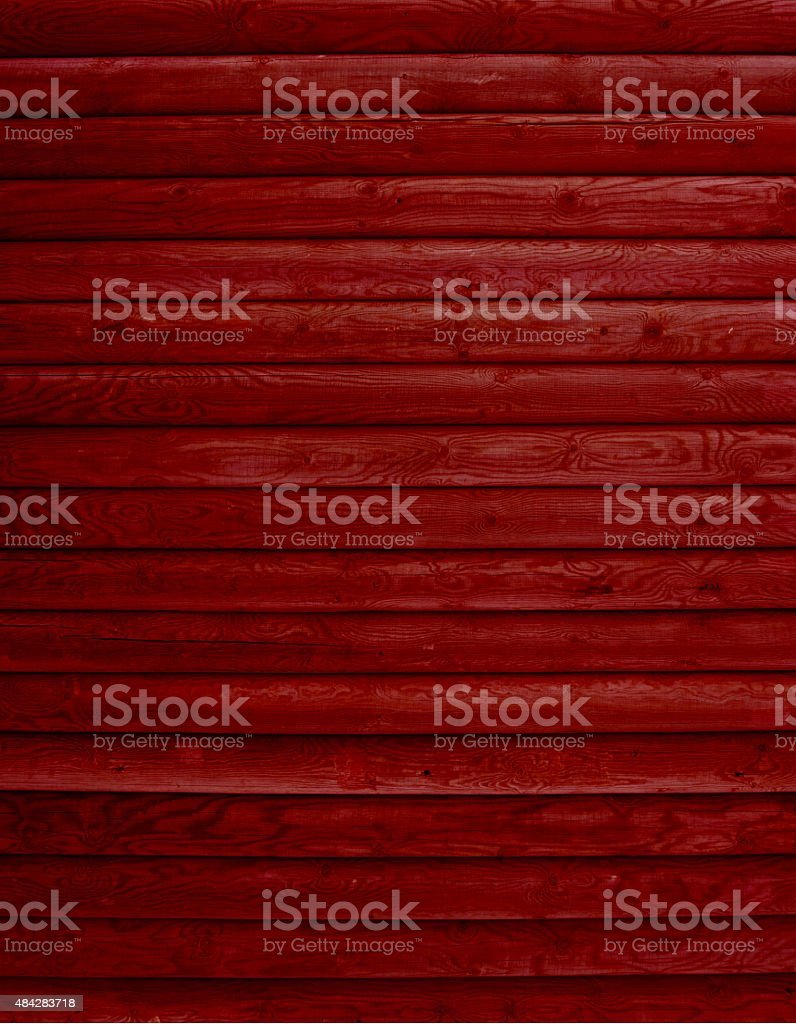 Wood background of red boards stock photo