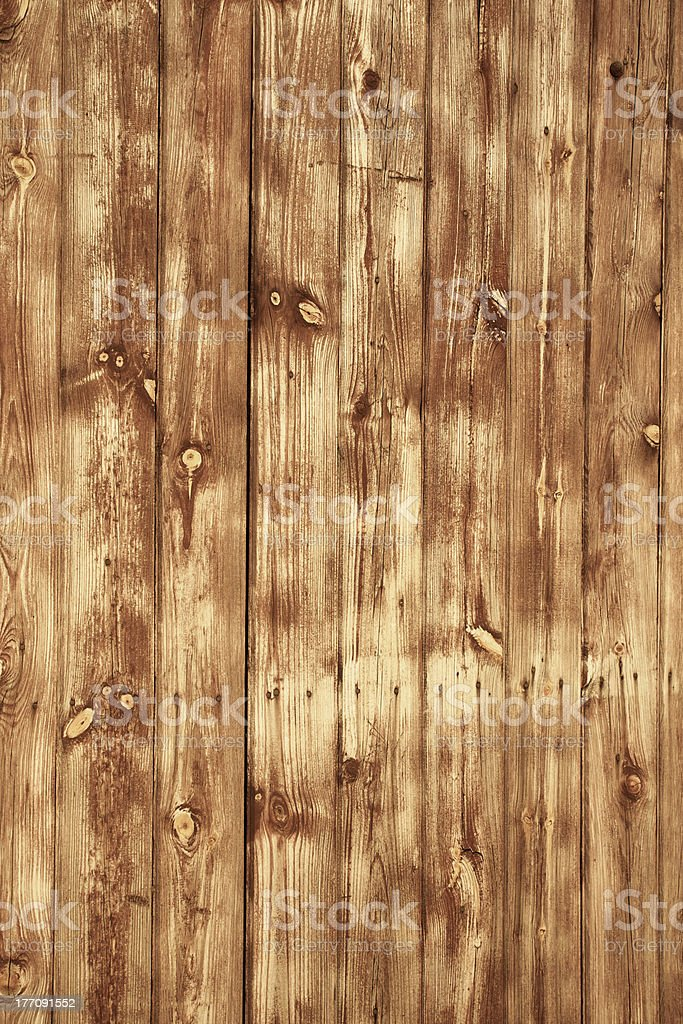 Wood background with yellow light royalty-free stock photo