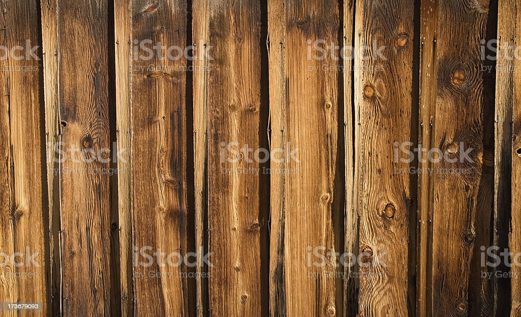 Wood Barn Siding Background stock photo