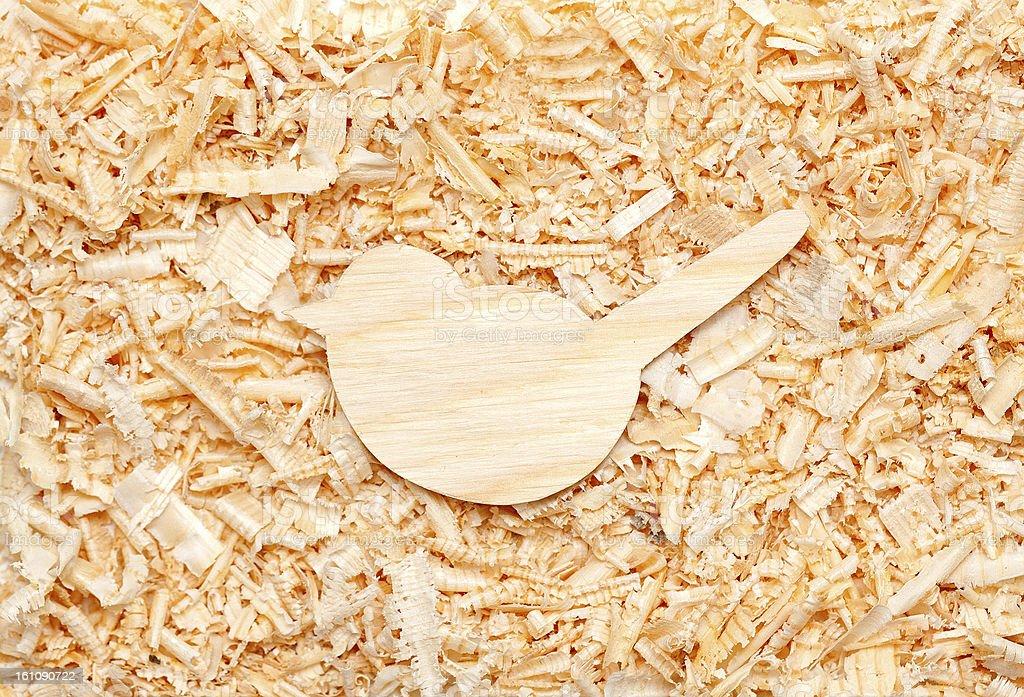 wood bird royalty-free stock photo