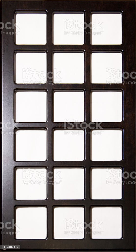 Wood block (board)  for decoration and interiors royalty-free stock photo