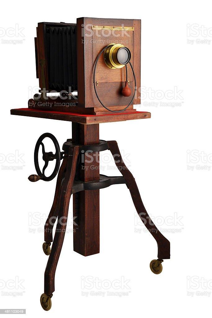 wood camera royalty-free stock photo