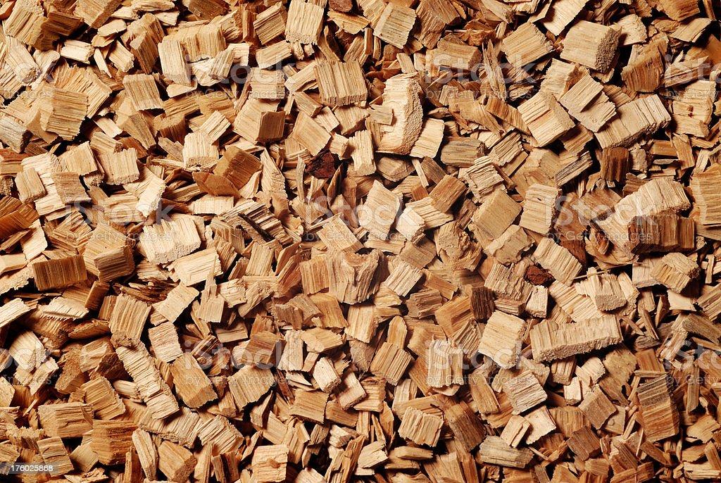 Wood Chip Background stock photo