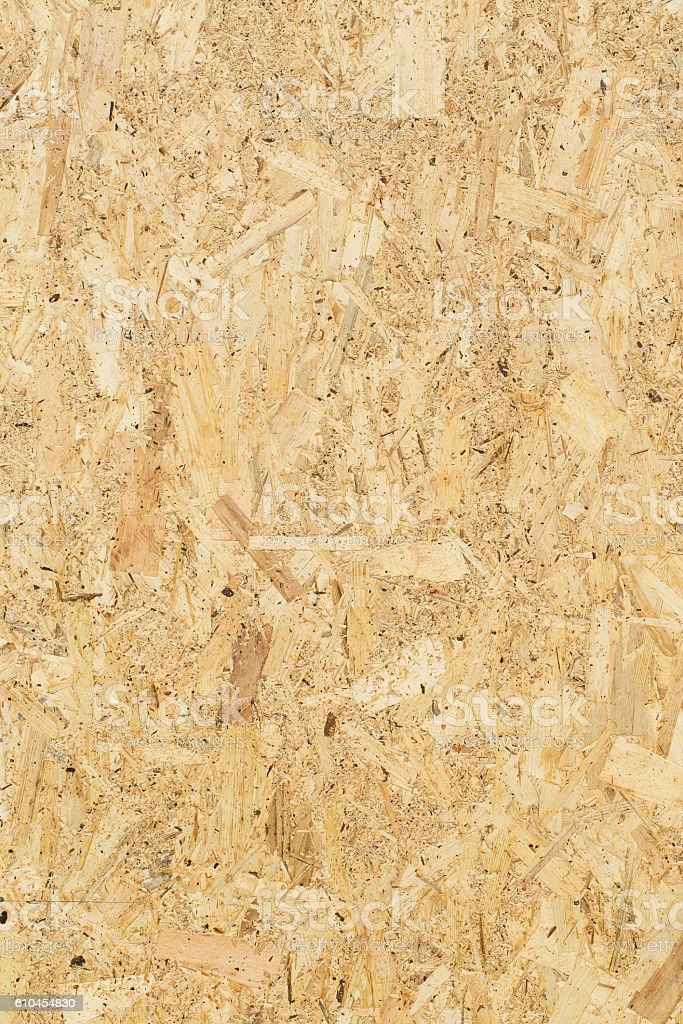 wood chip panel texture for background stock photo