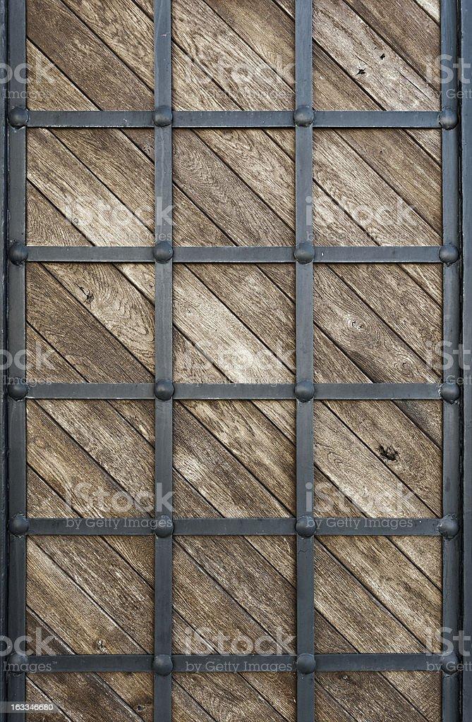 wood clad iron royalty-free stock photo