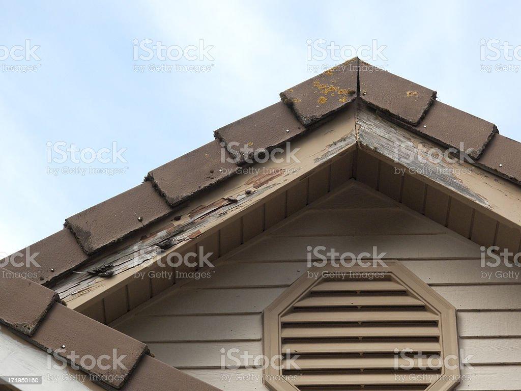 Wood Damage stock photo