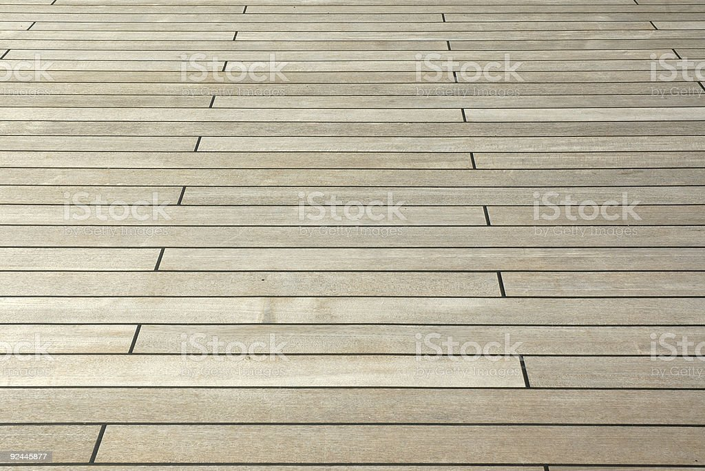 Wood Deck royalty-free stock photo