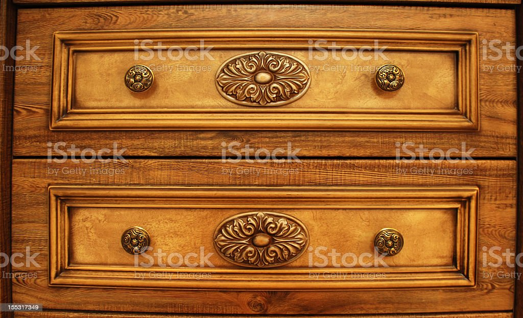 Wood decorated royalty-free stock photo