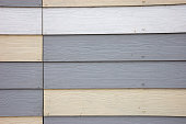 Wood Effect Textured PVC Cladding