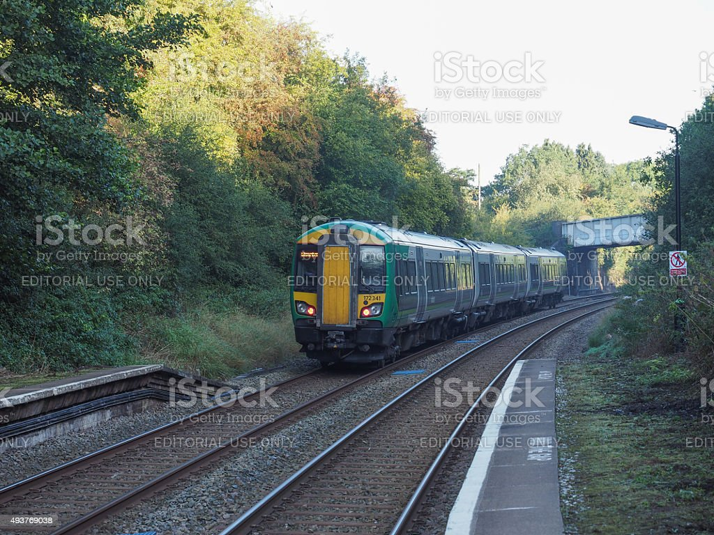 Wood End station in Tanworth in Arden stock photo
