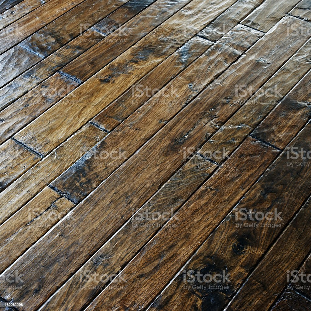 Wood Floor royalty-free stock photo