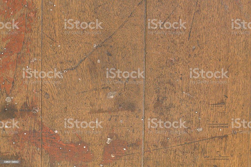 wood floor stock photo