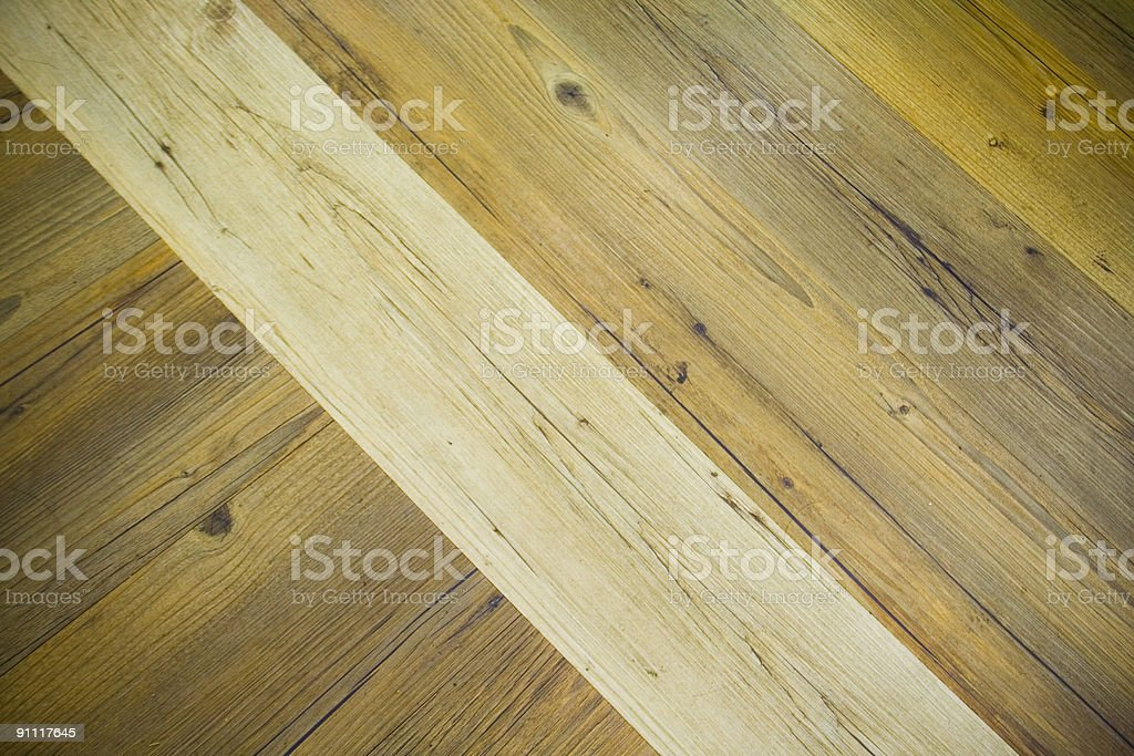 wood floor stock photo