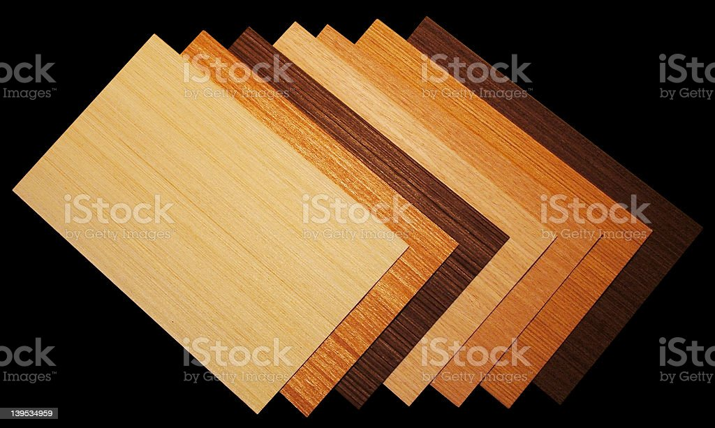 wood foil species royalty-free stock photo