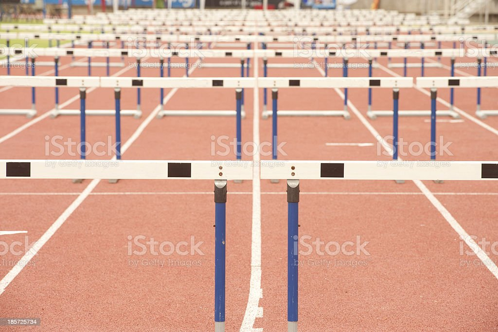 Wood for Hurdles. stock photo