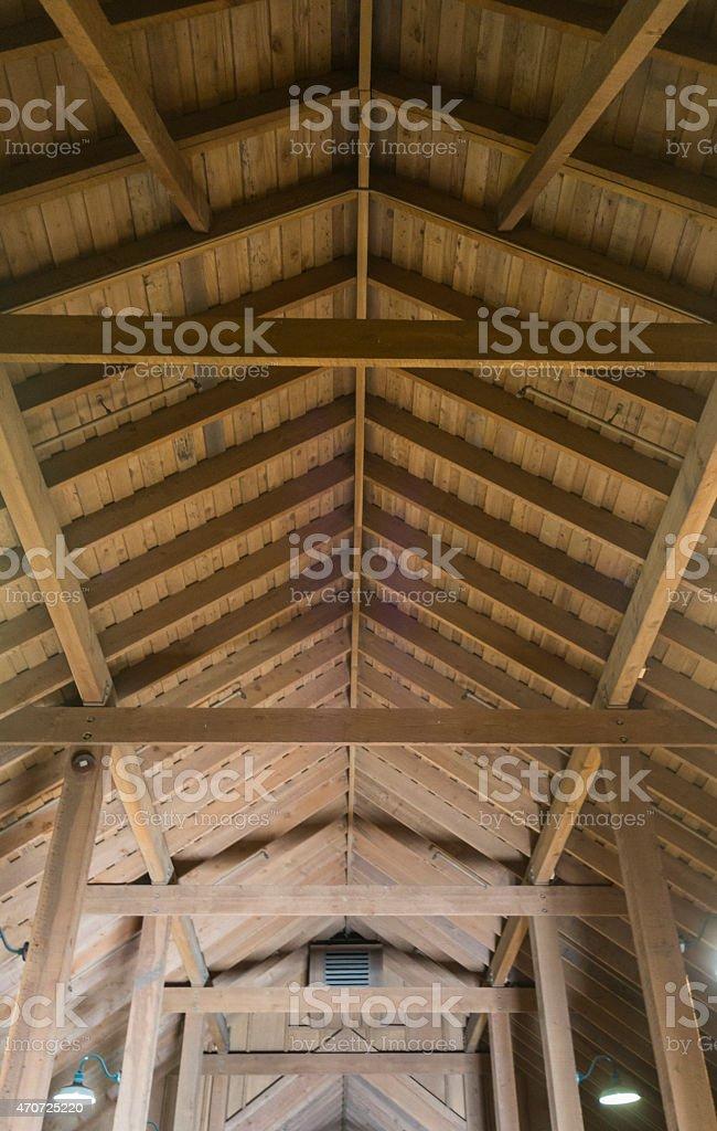 Wood Frame Interior stock photo