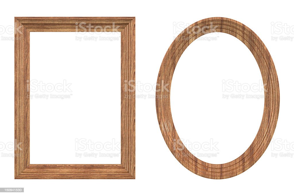 Wood Frame royalty-free stock photo