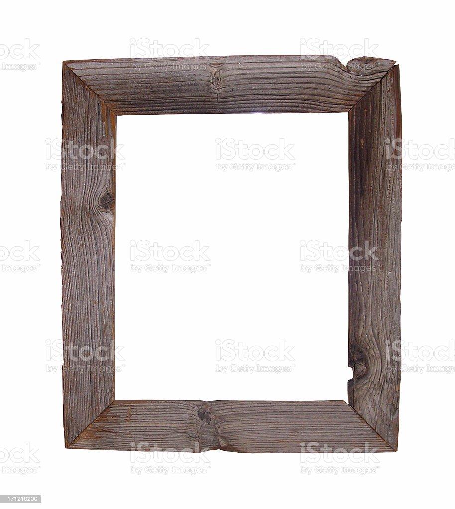 Wood Frame royalty-free stock photo