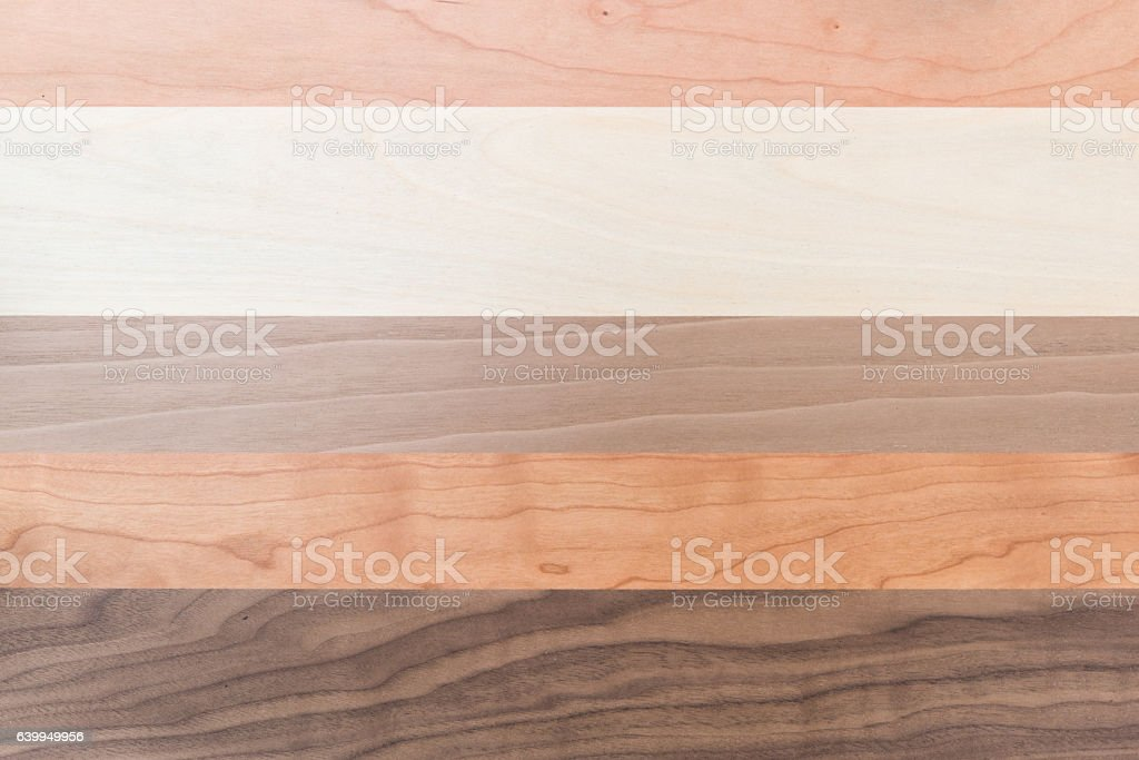 Wood grain plate background stock photo
