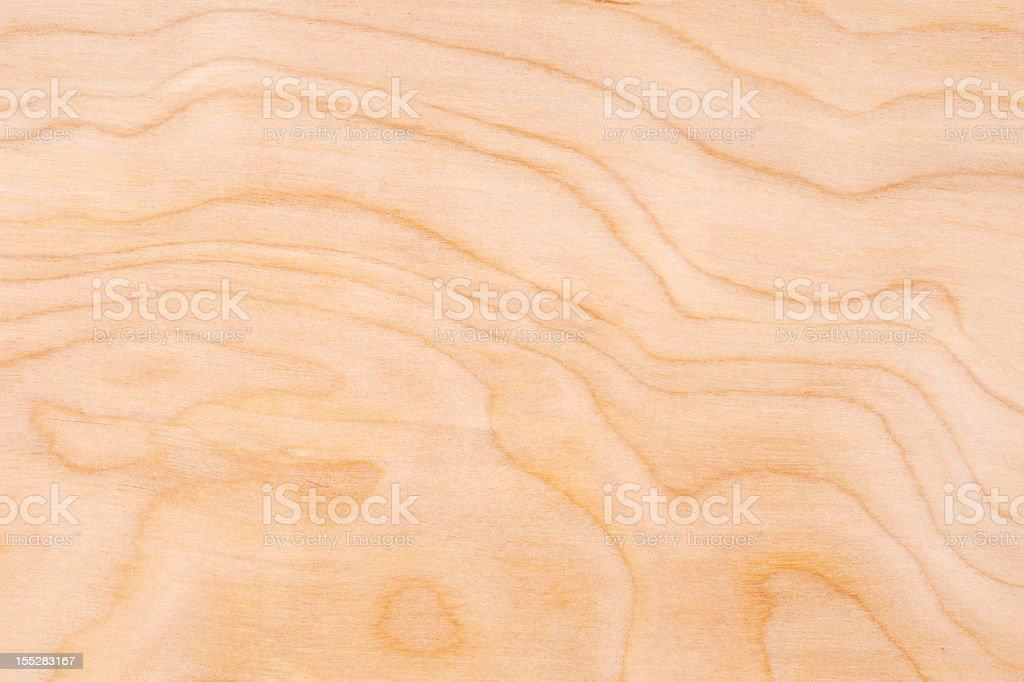 Wood Grain Texture Background: Birch Ply stock photo