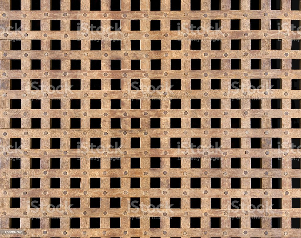 Wood Grating Texture (tiles seamlessly) royalty-free stock photo