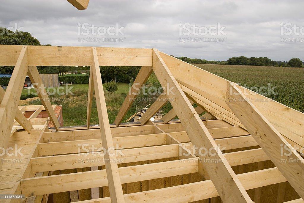 wood house royalty-free stock photo