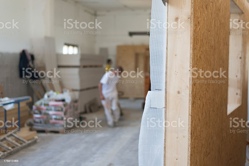 Wood industry royalty-free stock photo