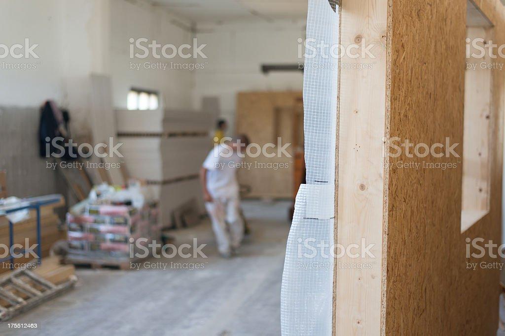 Wood industry stock photo