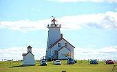 Wood Islands Provincial Park Lighthouse on Prince Edward Island