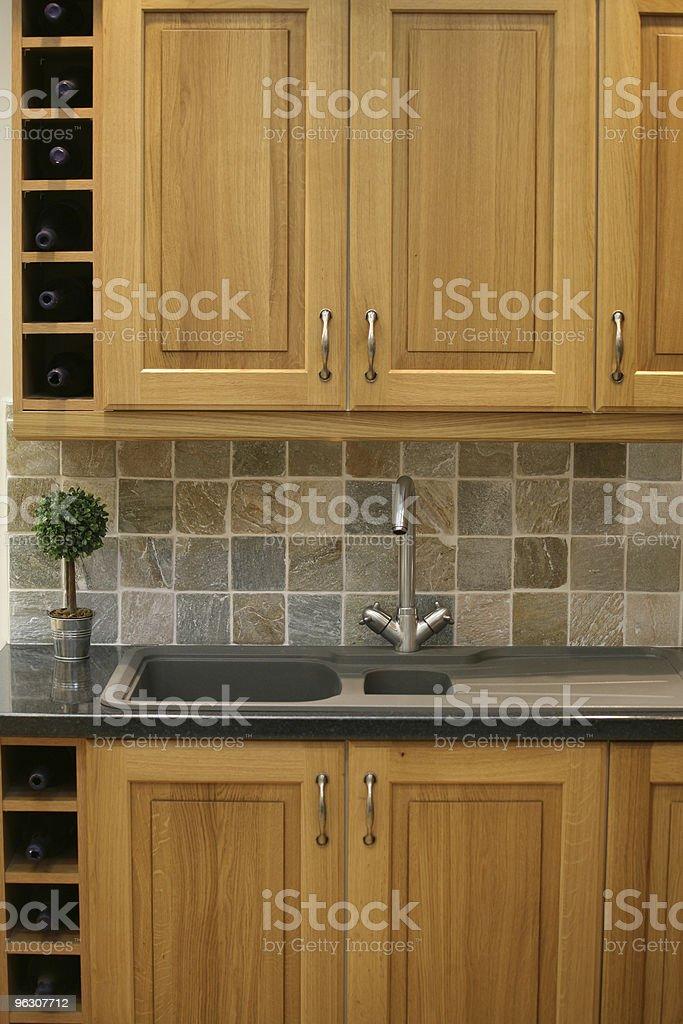 Wood Kitchen royalty-free stock photo