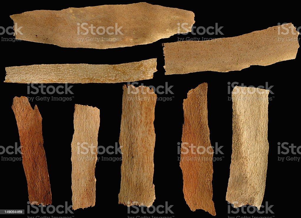 Wood Label für frei oder engagiert sich Lizenzfreies stock-foto