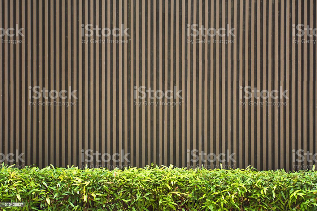 Wood lath wall background stock photo