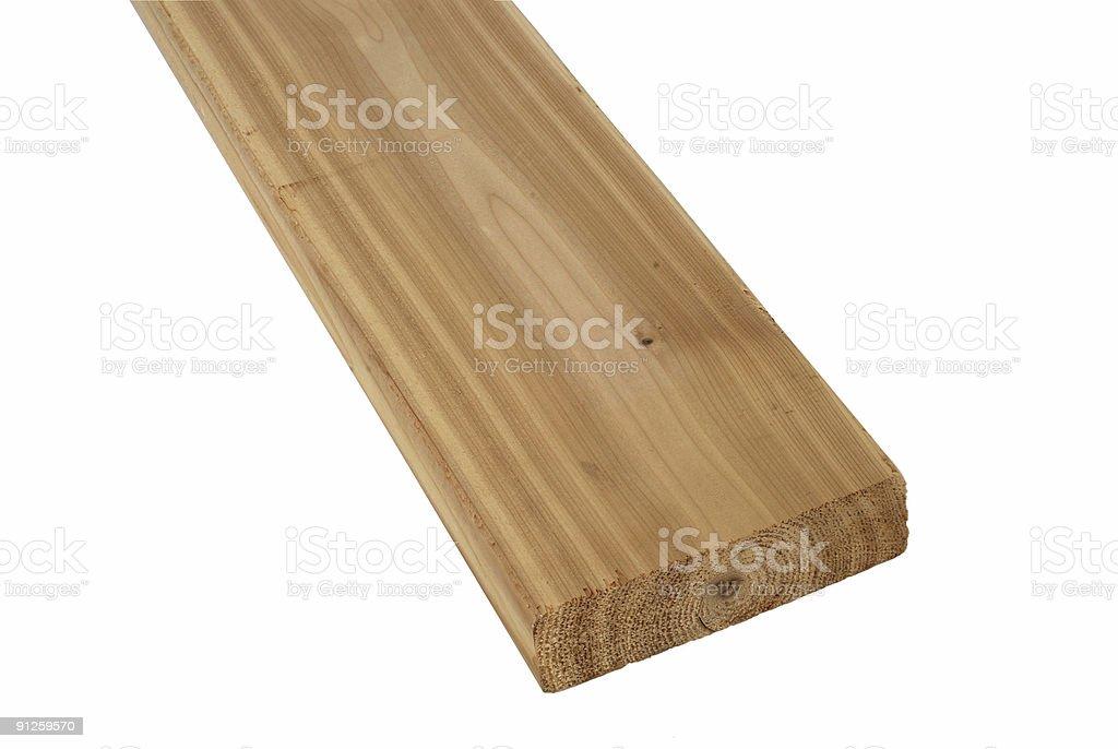 Wood lumber board royalty-free stock photo