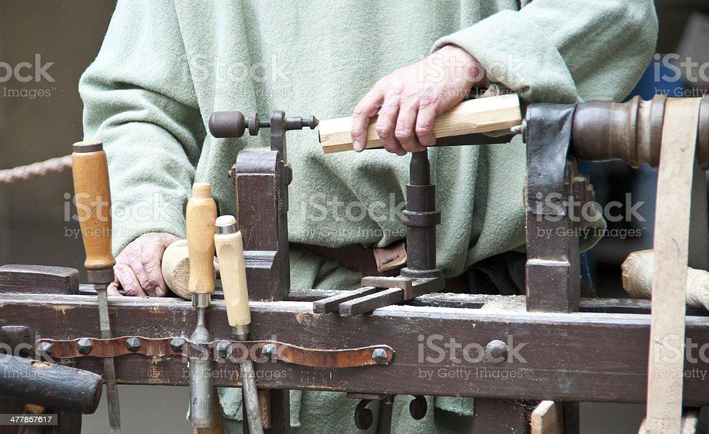 wood manufacture - Manufaktur royalty-free stock photo