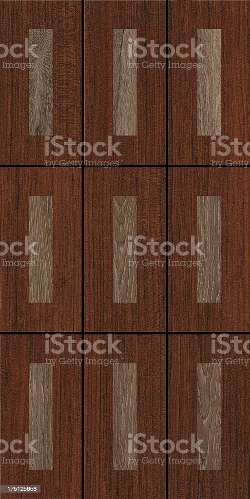 Wood mosaic texture. stock photo