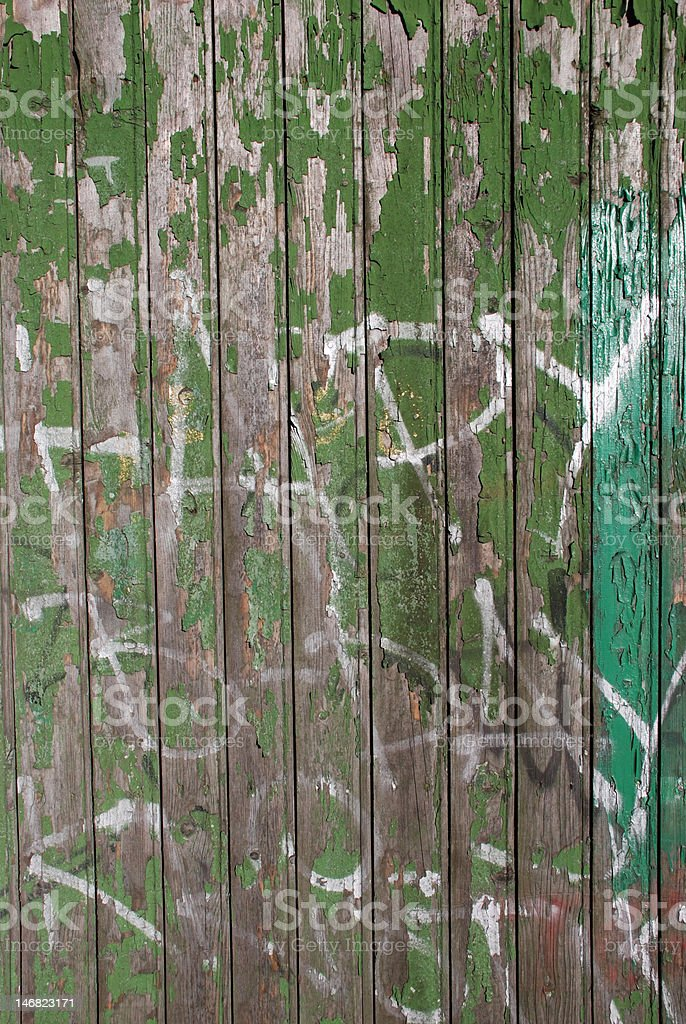 Wood painted wall royalty-free stock photo