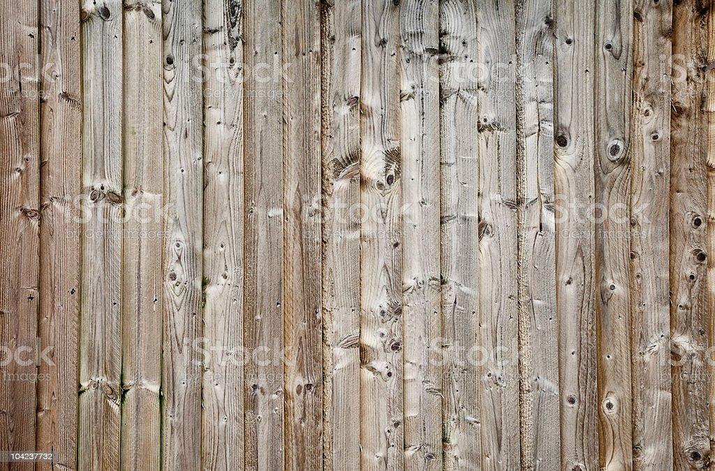 Wood panel fence royalty-free stock photo