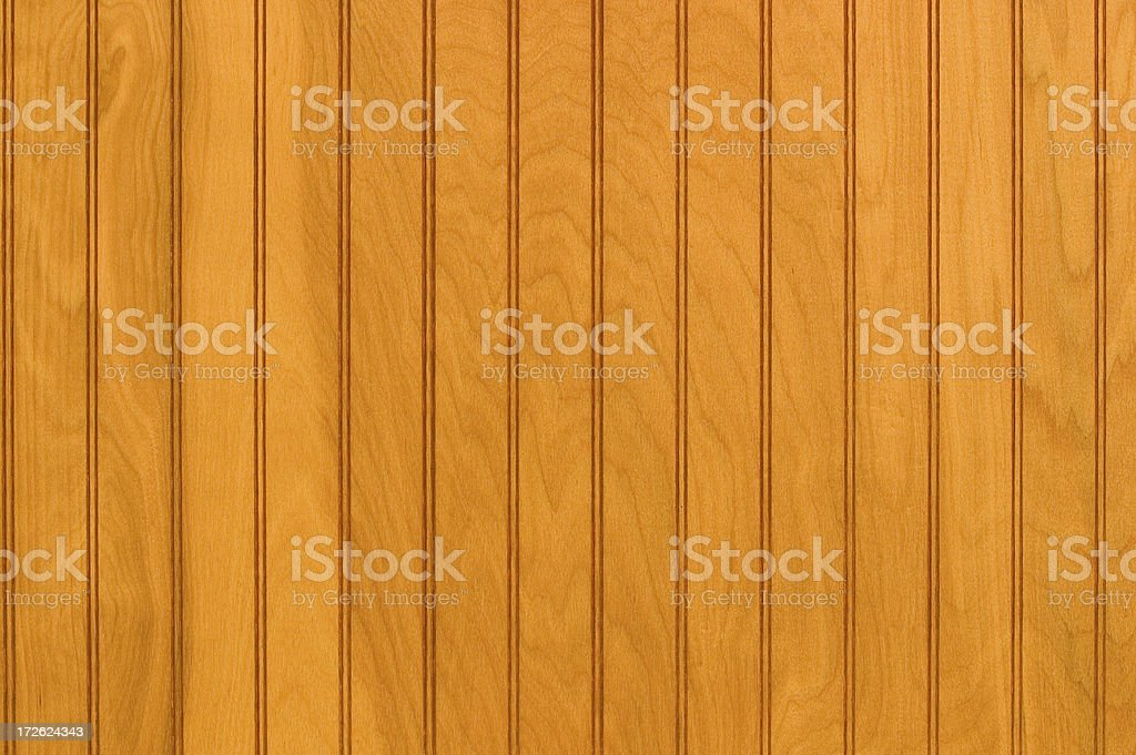 Wood panelling royalty-free stock photo
