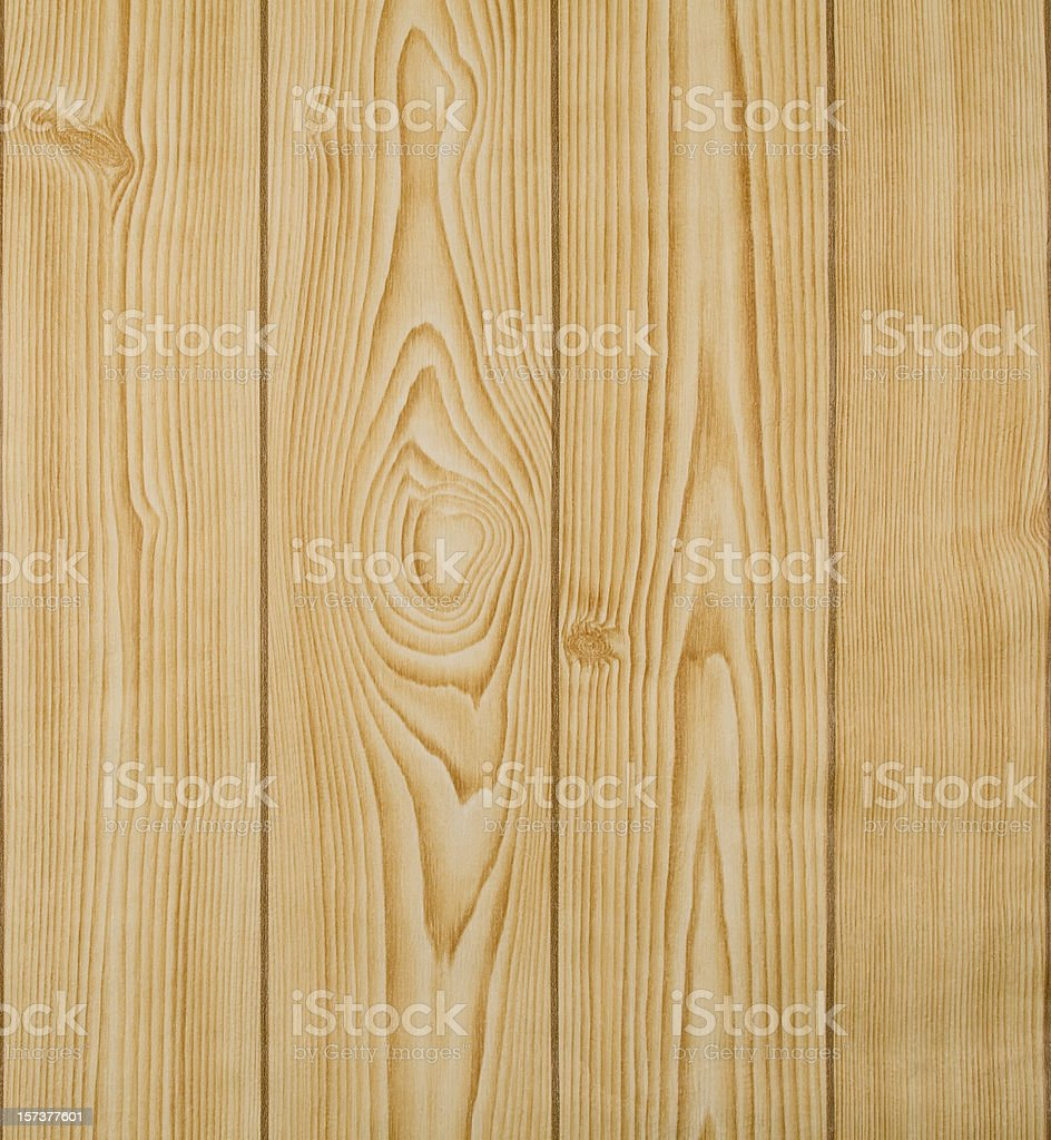 Wood panelling, pine royalty-free stock photo