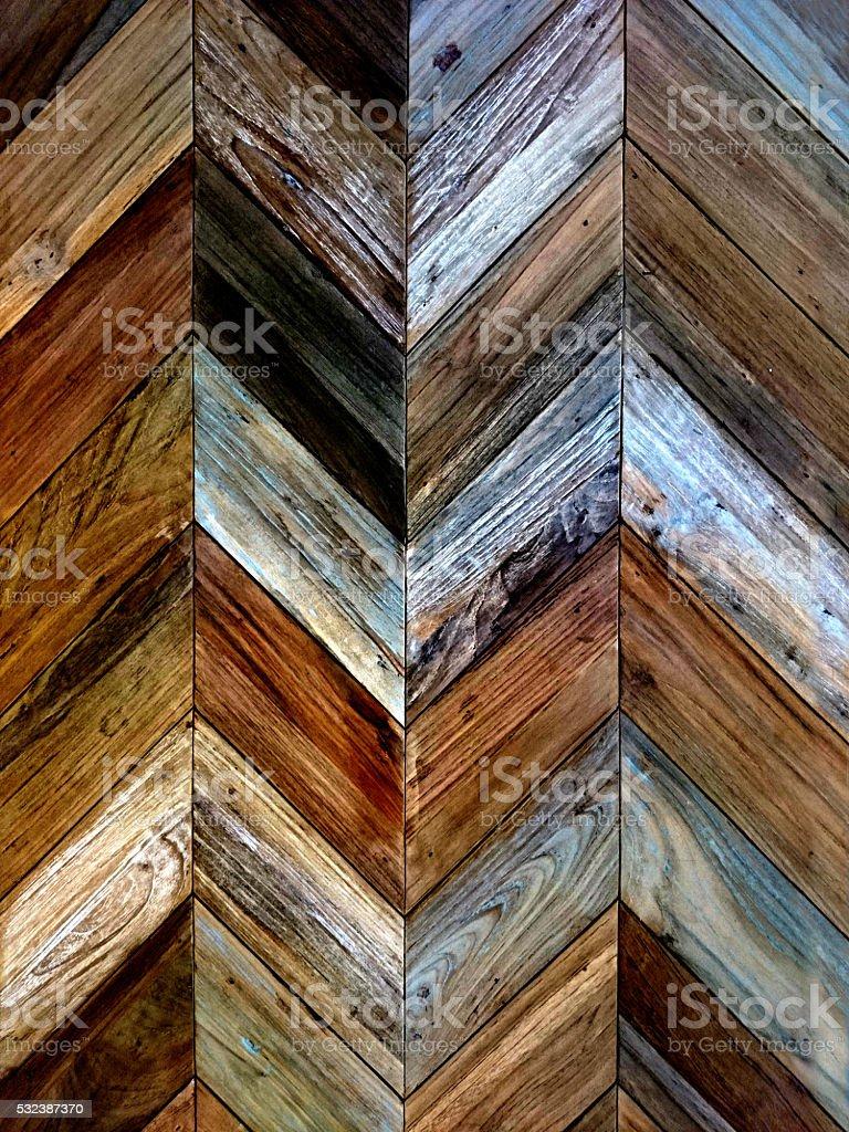 Wood Parquet Floor Close Up stock photo